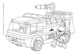 Fire Station Coloring Pages Fire Station Coloring Page Fire Truck