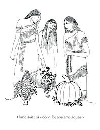 Native American Coloring Sheets Free Free Printable Native Coloring