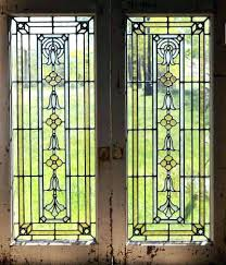 cabinet doors inserts best stained glass cabinet doors images on stained a pair of antique stained cabinet doors inserts glass