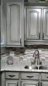 This Kitchen Is The Perfect One Island In The Darker Stained Color