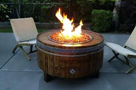 round fire pit table home depot