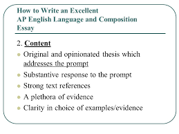 how to write an excellent ap english language and composition  how to write an excellent ap english language and composition essay  content original and