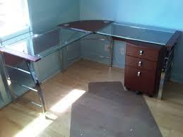 office depot desks glass. Office Depot Mezza L Shaped Desk Glass Desks F
