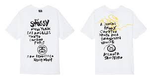 Stussy T Shirt Size Chart Stüssy World Tour History And Recent Collection Stussy Com