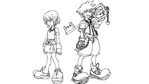 Small Picture Printable Kingdom Hearts Coloring Pages 19313 Bestofcoloringcom