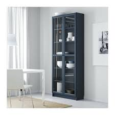 ikea glass shelves billy bookcase with glass doors dark blue cm with glass bookcase ikea black