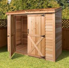 cedar garden shed. Yard Storage Sheds, 8 X 4 Shed, DIY Lean To Style Plans \u0026 Designs   Cedarshed USA Cedar Garden Shed M