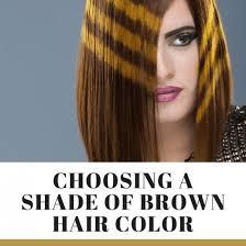Choosing A Shade Of Brown Hair Color Bellatory
