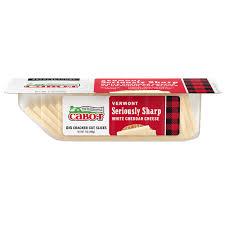 sharp white cheddar. seriously sharp cheddar cracker cuts white %