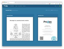 What Is A Design Proof About Provendocs