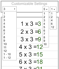 Times Table Chart Up To 10 Teachers Favorite Multiplication Charts Tables