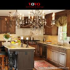 Classic Style Solid Wood Furniture Oak Wood Kitchen Cabinet In