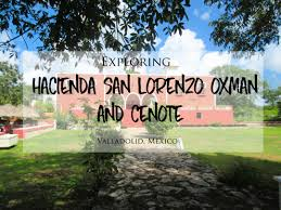 cycling to and exploring hacienda san lorenzo oxman and cenote near valladolid mexico brittanymthiessen