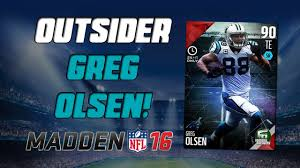 Greg Olsen Highlights Madden 16 - YouTube