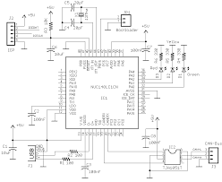 can to usb interface electronics lab can usb schematic
