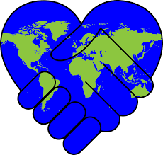 Image result for earth heart