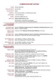 Curriculum Vitae English Example Pdf Malawi Research Waa Mood