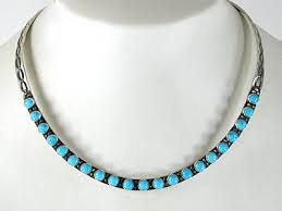 Herman Smith Navajo Sterling Silver Braided Collar