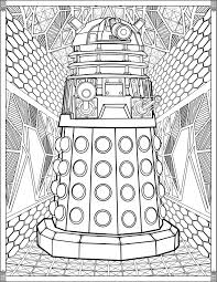 dr who coloring pages. Doctor Who Coloring Pages For Adults Dr New Colouring Intended