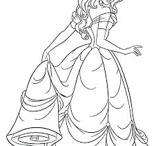 Free Coloring Pages Of Princesses Princess Online Sheets Kids