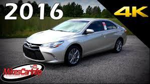 2016 Toyota Camry SE - Ultimate In-Depth Look in 4K - YouTube