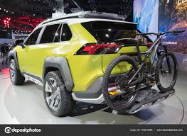 Toyota FT-AC concept on display during LA Auto Show – Stock ...