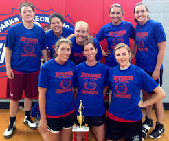 Adult women's basketball league