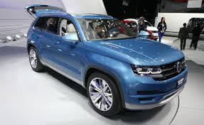 new car 2016 suvNew Volkswagen Midsize SUV Heading to US in 2016  AutoGuidecom News