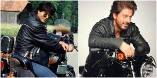 Image result for shahrukh leather jacket