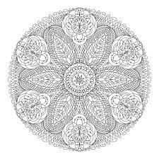 Mandala Dentelle Fleurs