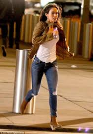 injecting some glamour megan fox stops traffic as she runs through the streets of new