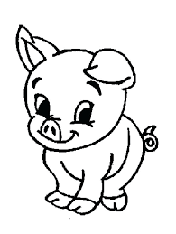 Free Simple Coloring Pages Free Simple Farm Animal Coloring Pages
