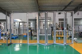 designer canopy type bifold garage doors