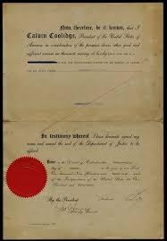 Pardon of Marshall Barton Fales to restore civil rights.] | Gilder Lehrman  Institute of American History