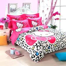 hello kitty baby crib exotic bedding sets home textiles cartoon include duvet cover bed set