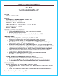 School Counseling Resume Resume For Study