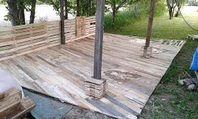 Diy Pallet Deck Pallet Porch Pallet Deck Patio Furniture Diy Pallet