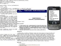 Example Of A Fax Message Example Reach Study Message Full Message Left Sent Via Email And