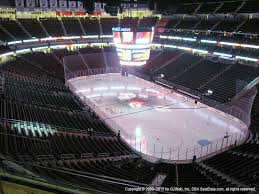 Prudential Center View From Mezzanine 134 Vivid Seats