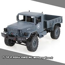 WPL B-1 1/16 RC Crawler Off-Road Car With Headlight 4WD Pick-up ...