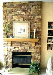 fireplace refacing how to reface a brick fireplace refacing with stone veneer tile cost the finished