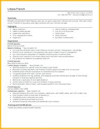 Warehouse Job Description For Resume Forklift Experience Job Description Enosnabanda Com