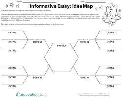 All About The Informative Essay Lesson Plan Education