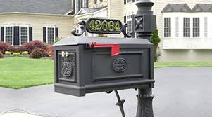 Decorative Mail Boxes Better Box MailboxesDecorative Cast Aluminum Mailboxes Curbside 59
