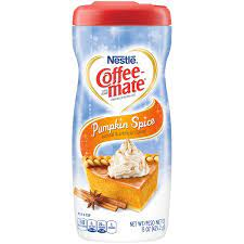 Pumpkin pie creamer is low carb and keto friendly. Nestle Coffee Mate Pumpkin Spice Powder Coffee Creamer 15 Oz Instacart