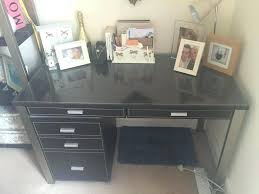 office desk cabinet. John Brown Faux Leather Office Desk And Cabinet
