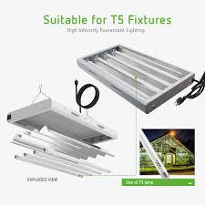 Fluorescent Grow Lights T5 Fluorescent Grow Light Bulbs 5 Pack