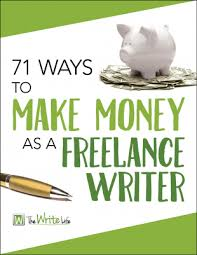 new to lance writing ways to make money as a beginner