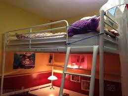 ikea tromso loft bed frame with desktop