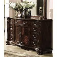 Myco Furniture Dresser With Marble Top